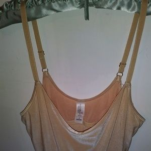 Victoria's Secret Nighty/Slip Nude/Iridescent Like